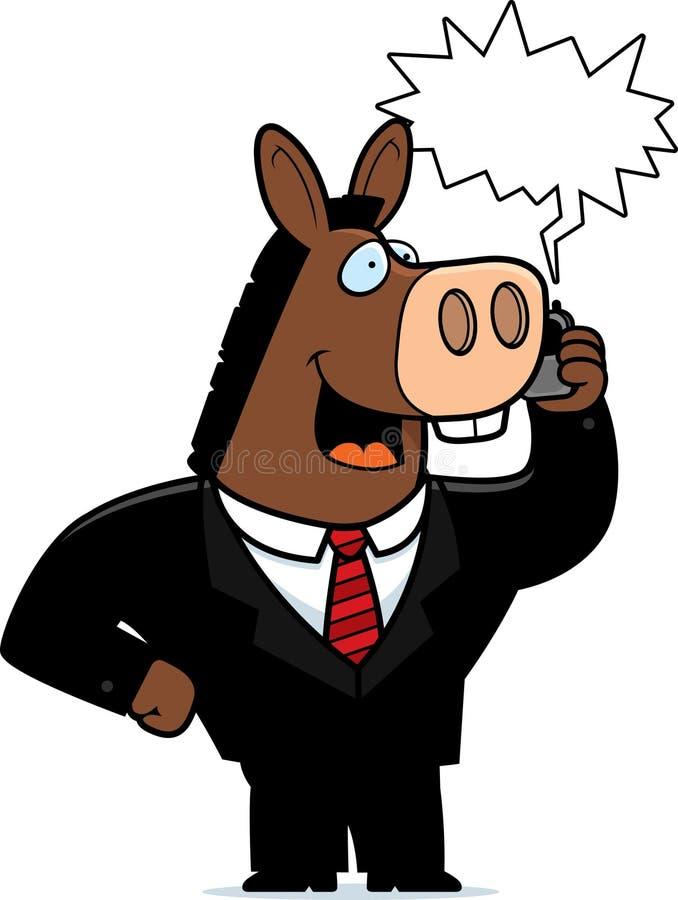 De Telefoon van de ezel vector illustratie