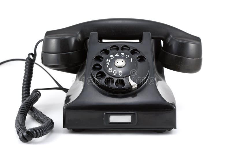 De Telefoon Van De Jaren  40Era Stock Afbeeldingen