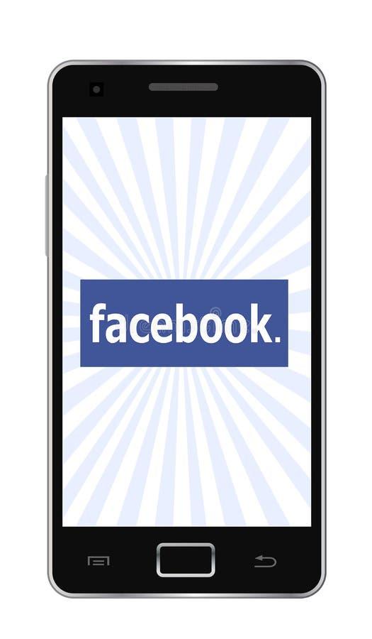 De telefoon van Facebook