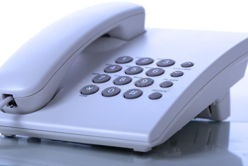 De telefoon van het bureau stock afbeelding