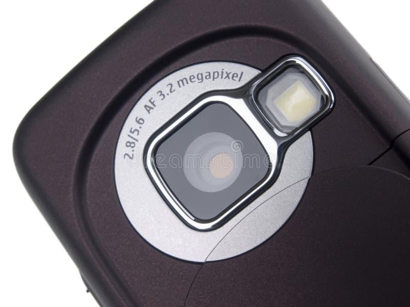 De telefooncamera van de cel stock foto