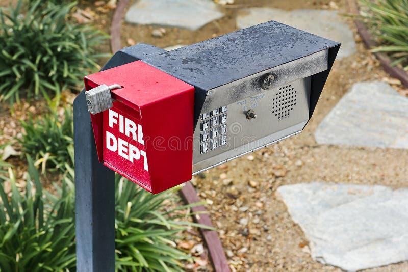 De Telefooncel van de veiligheid stock foto's