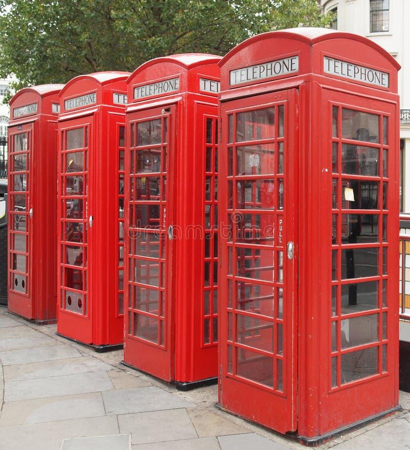 De telefooncel van Londen stock foto