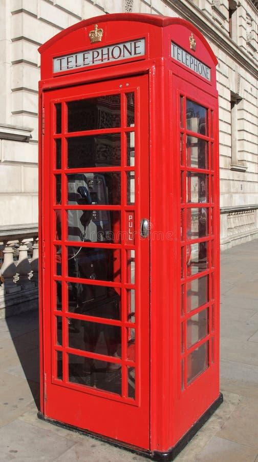 De Telefooncel van Londen royalty-vrije stock foto's