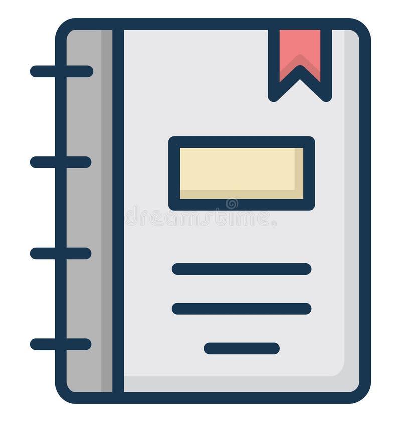 De telefoonfolder isoleerde Vectorpictogram dat gemakkelijk kan worden gewijzigd of worden uitgegeven stock illustratie