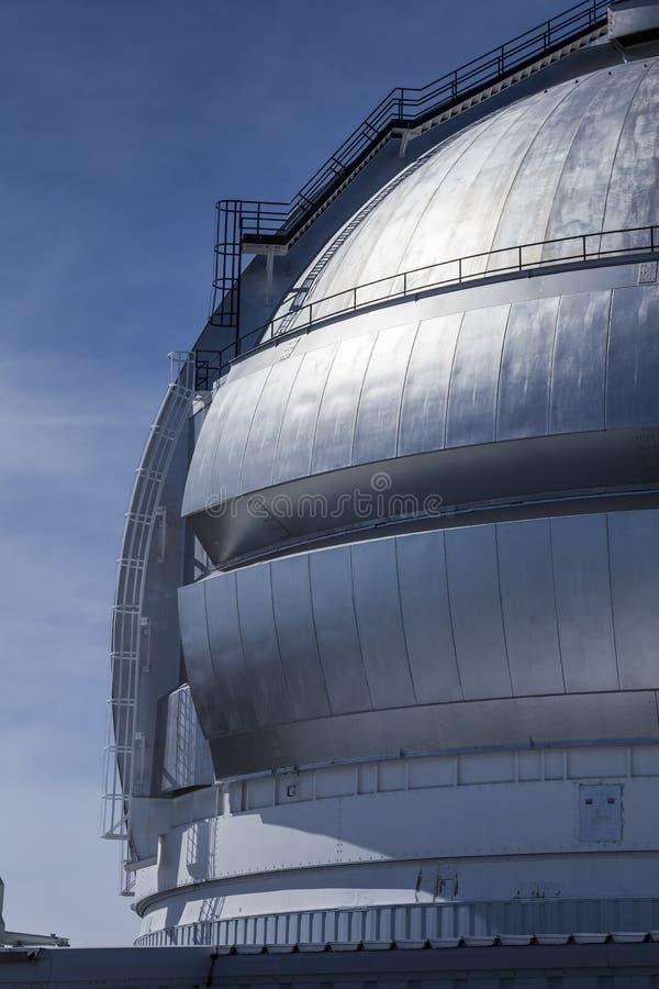 De telescoop/het waarnemingscentrum van Tweeling stock afbeeldingen
