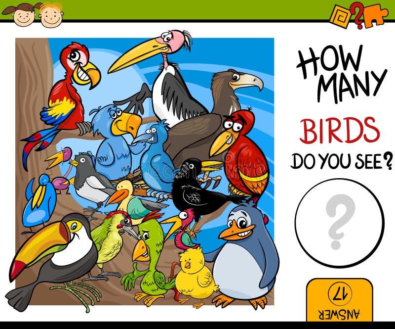 De tellende illustratie van het spelbeeldverhaal royalty-vrije illustratie