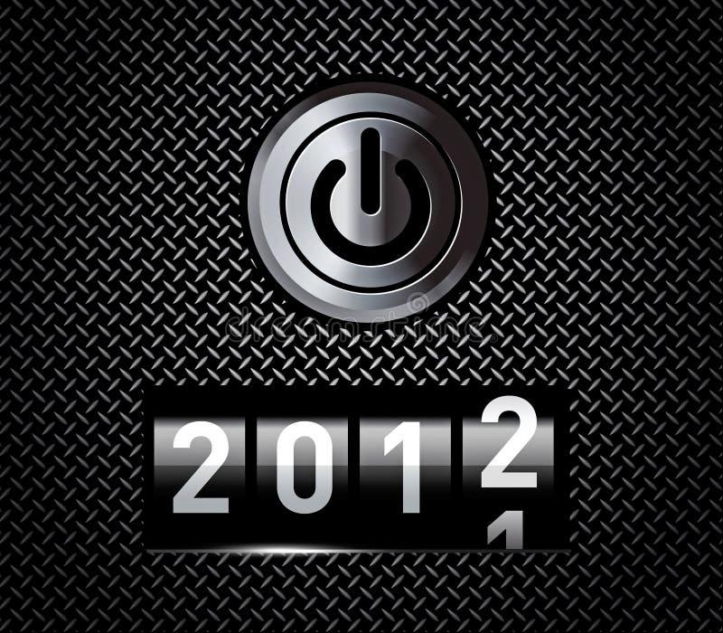 De teller van het nieuwjaar