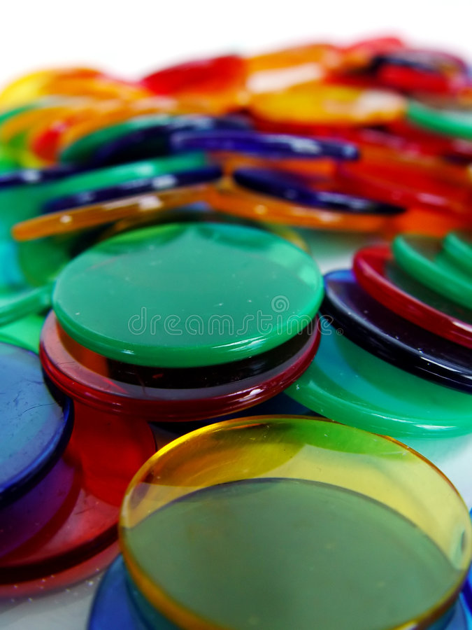 De Tellers van Colourfull stock afbeelding