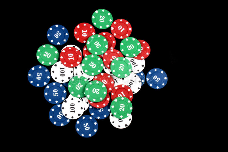 De Tellers van het casino stock foto's