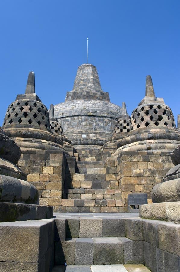 De tempel Borobudur van Buddist royalty-vrije stock foto