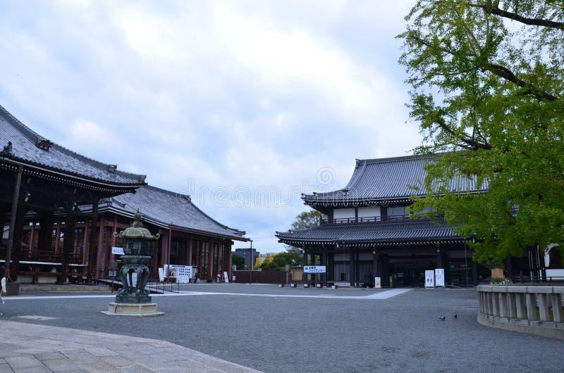 De Tempel Kyoto Japan van Higashi Honganji royalty-vrije stock foto