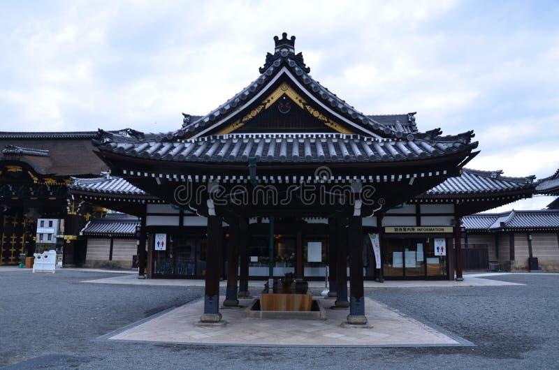 De Tempel Kyoto Japan van Higashihonganji royalty-vrije stock foto