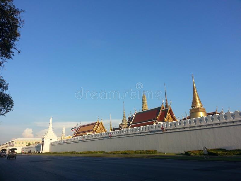 De tempel in Thailand stock fotografie