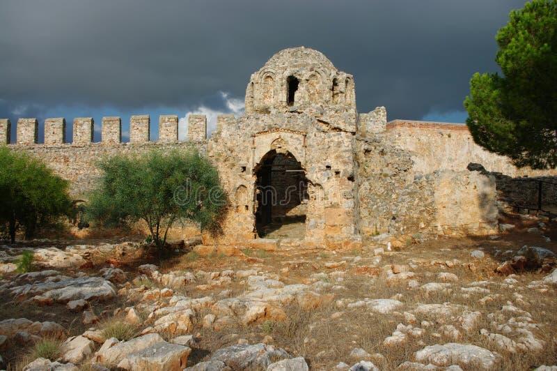De tempel van Alanya royalty-vrije stock afbeelding