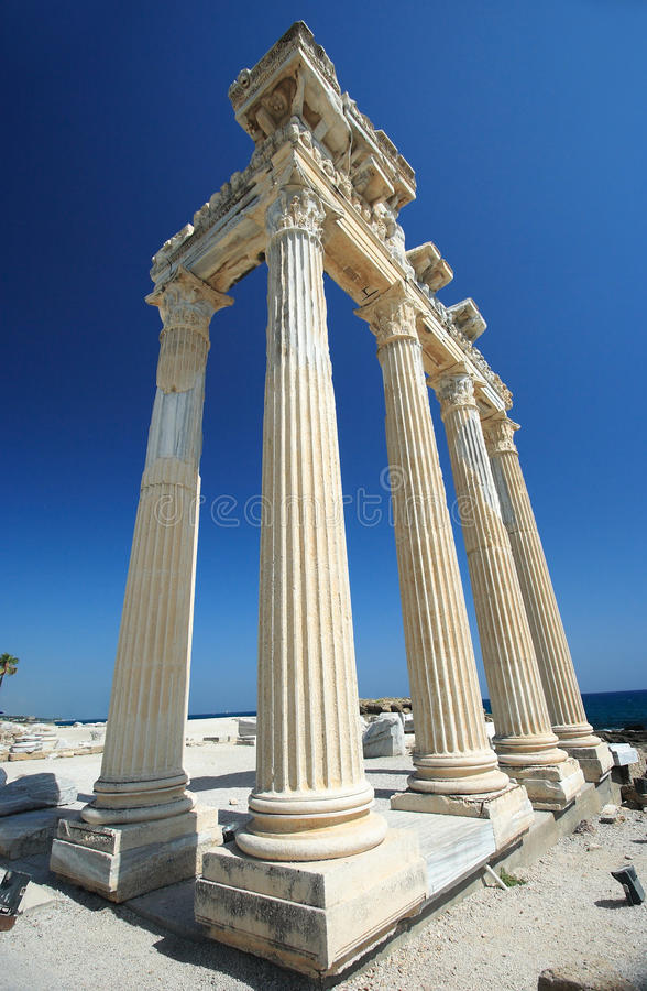 De tempel van Apollo in Kant royalty-vrije stock afbeelding