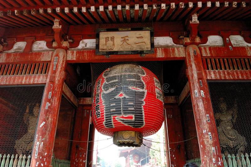 De Tempel van Asakusa royalty-vrije stock fotografie