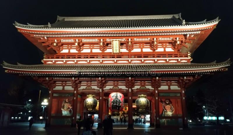 De Tempel van Asakusakannon stock afbeelding