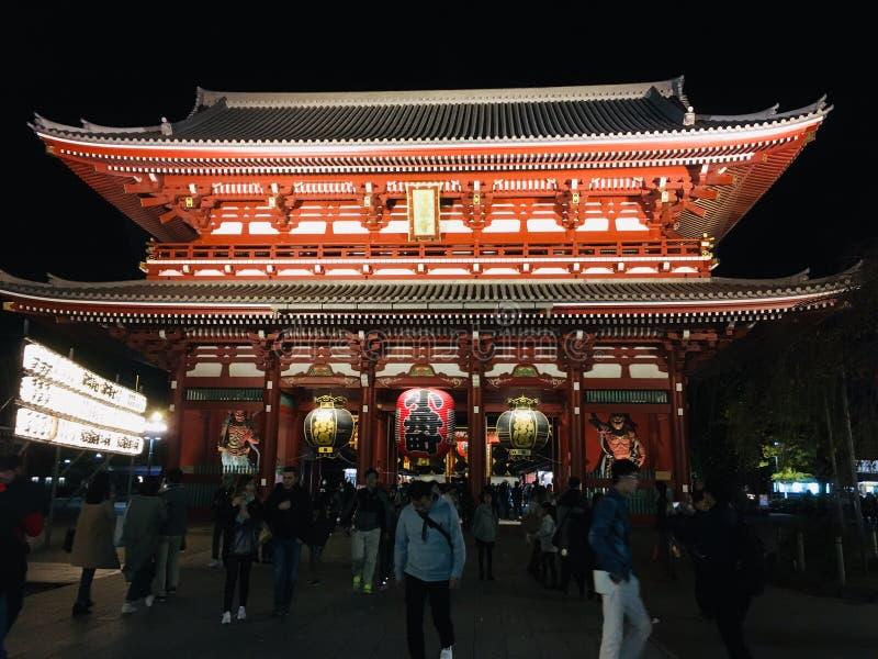 De Tempel van Asakusakannon royalty-vrije stock foto