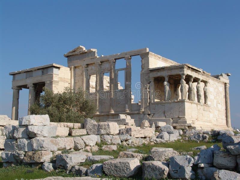 De tempel van Athena Nike stock afbeeldingen