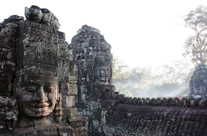 De Tempel van Bayon. Angkor. Siem oogst. Kambodja royalty-vrije stock foto