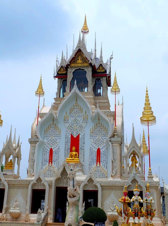 De tempel van Boedha in Thailand royalty-vrije stock fotografie