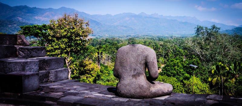De tempel van Borobudur, Java, Indonesi? royalty-vrije stock afbeeldingen