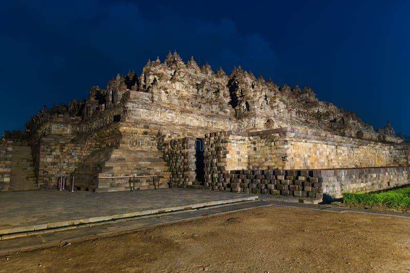 De Tempel van Borobudurbuddist - eiland Java Indonesia royalty-vrije stock foto's