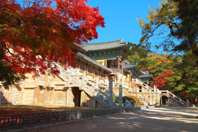 De Tempel van Bulguksa royalty-vrije stock afbeelding