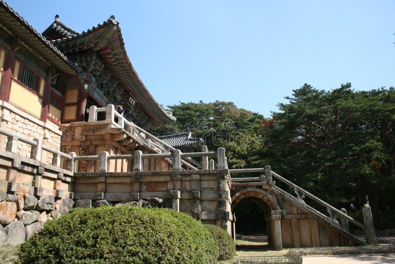 De Tempel van Bulguksa stock afbeelding