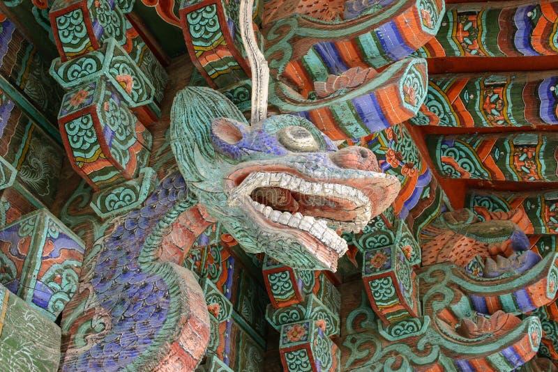 De tempel van Bulguksa in Zuid-Korea royalty-vrije stock foto