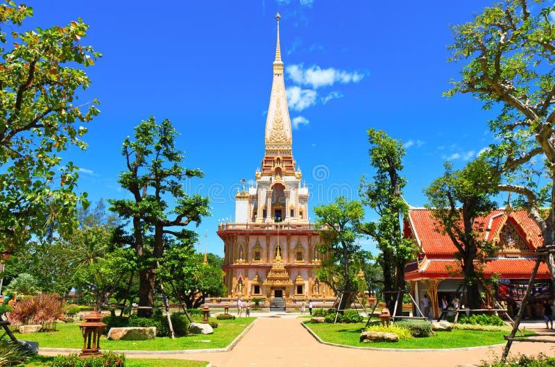 De Tempel van Chalong van Wat stock fotografie