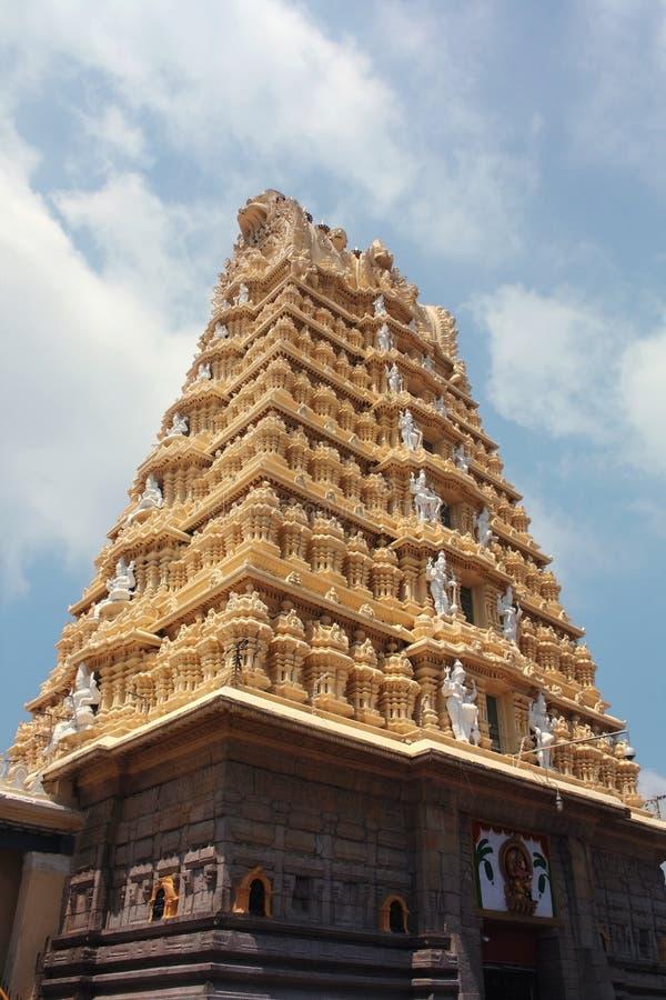 De Tempel van Chamundeshwari, Mysore royalty-vrije stock foto