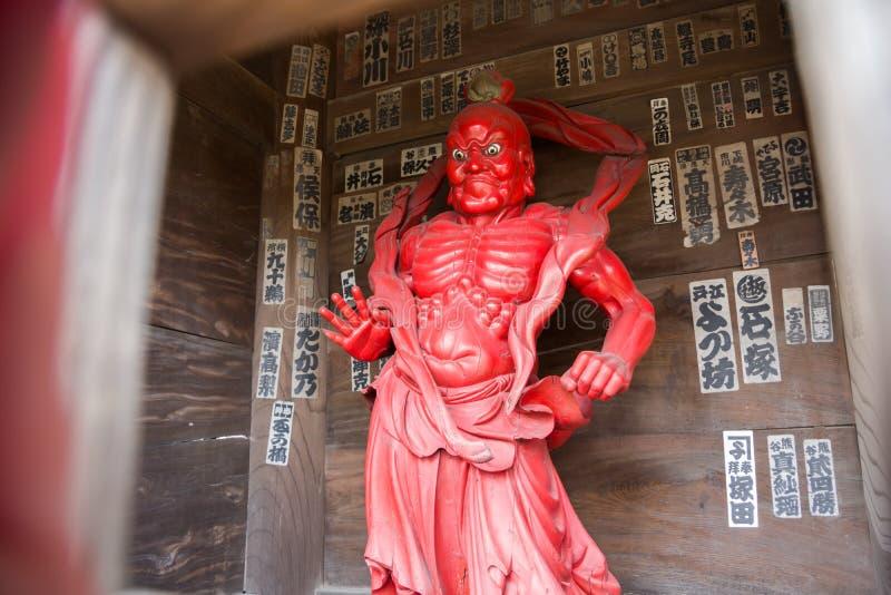 de Tempel van Chiba stock afbeelding