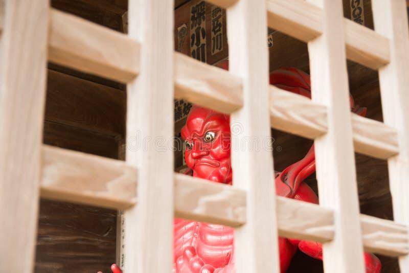 de Tempel van Chiba stock foto's