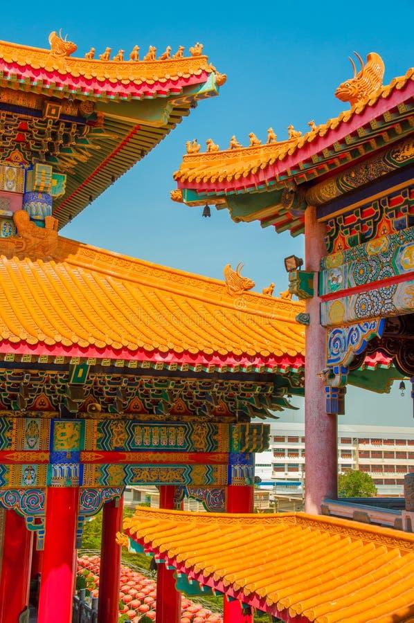 De tempel van China stock foto