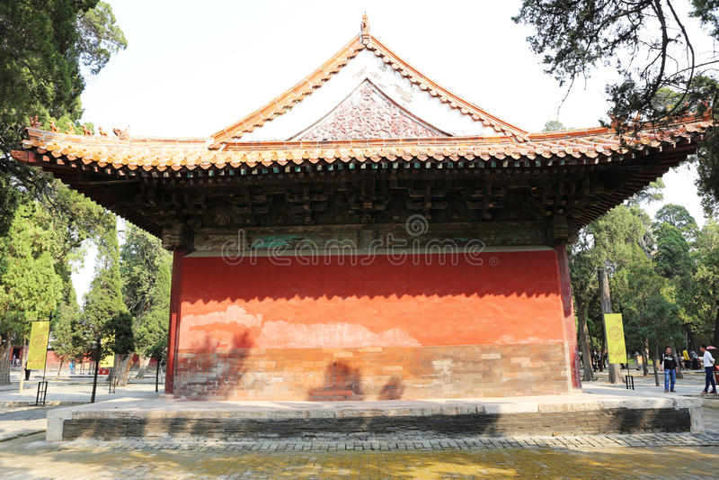 De Tempel van Confucius royalty-vrije stock foto's