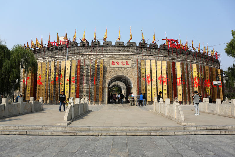 De Tempel van Confucius royalty-vrije stock fotografie