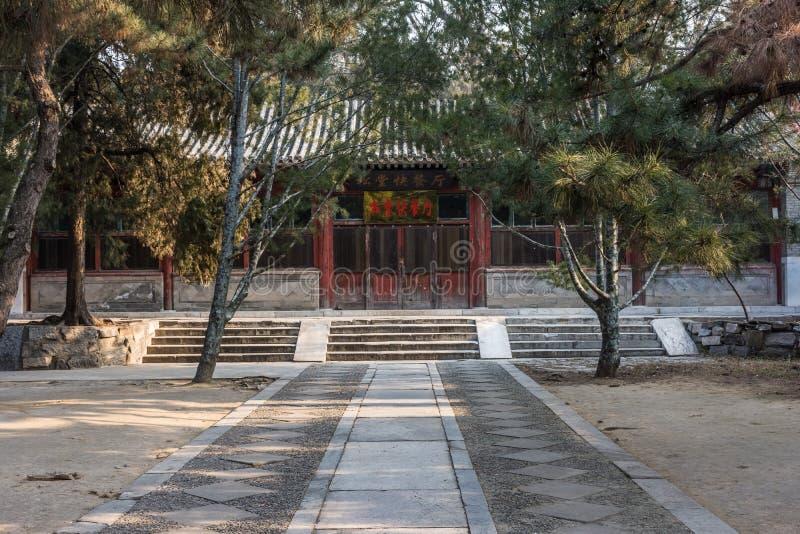 De Tempel van Confucius van Peking royalty-vrije stock foto