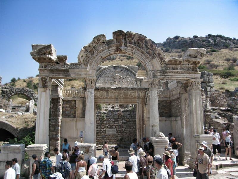 De tempel van de Artemidekerk - zevende wonder van de wereld royalty-vrije stock afbeelding