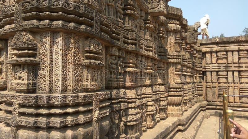 De Tempel van de Konarkzon - Architecturale Schoonheid van India royalty-vrije stock foto's