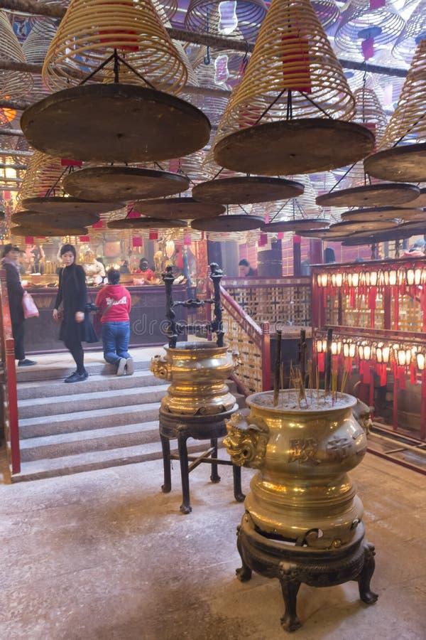 De tempel van dingshau in Hong Kong royalty-vrije stock foto