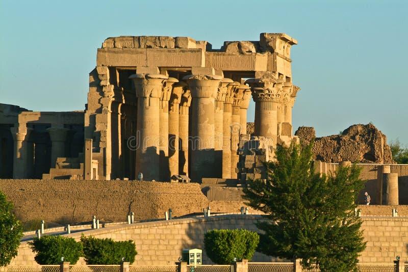 De Tempel van Egypte van Kom Ombo stock foto's