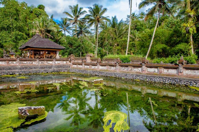De Tempel van Empul van Tirta Bali, Indonesië stock foto's