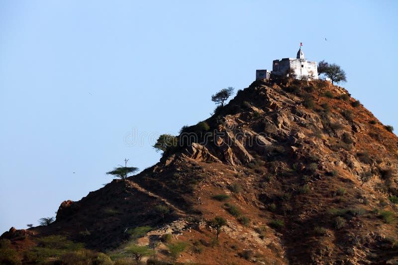 De Tempel van Gayatri in Pushkar royalty-vrije stock foto's