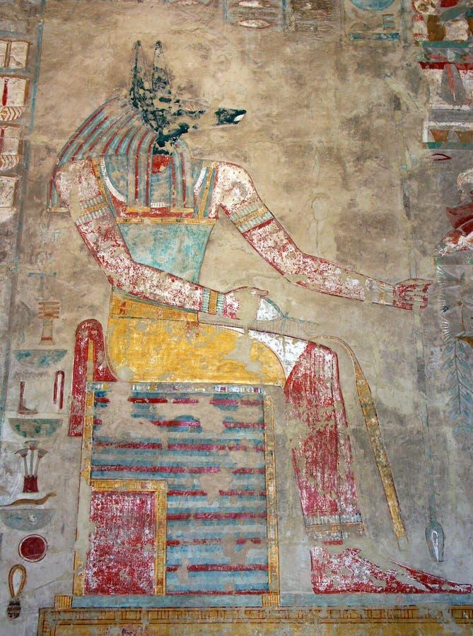 De Tempel van Hatshepsut, Egypte stock afbeeldingen