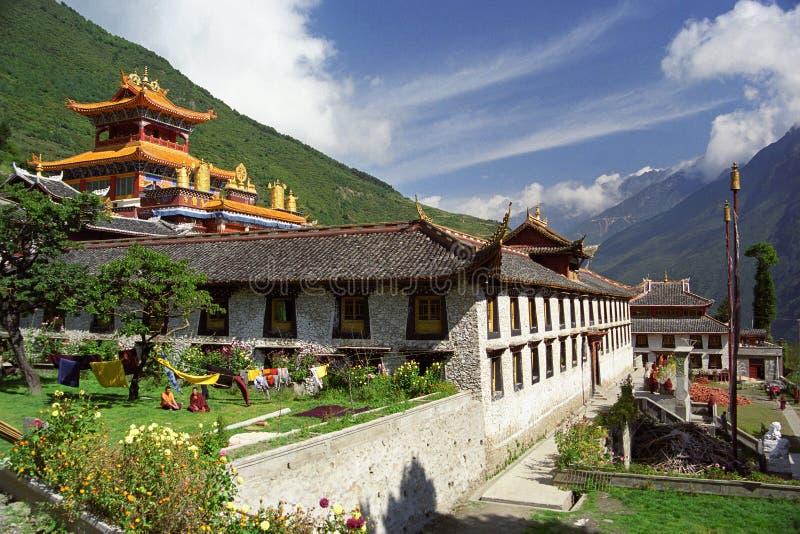 De Tempel van het boeddhisme royalty-vrije stock fotografie