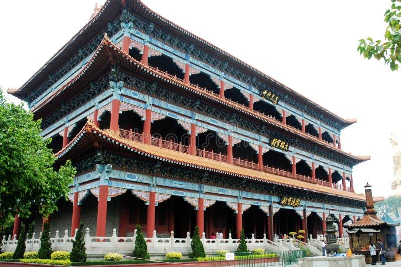De tempel van het boeddhisme stock foto's