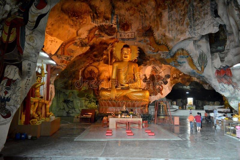 De Tempel van het Hol van Tong van Perak stock afbeeldingen