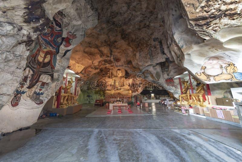 De Tempel van het Hol van Tong van Perak stock fotografie
